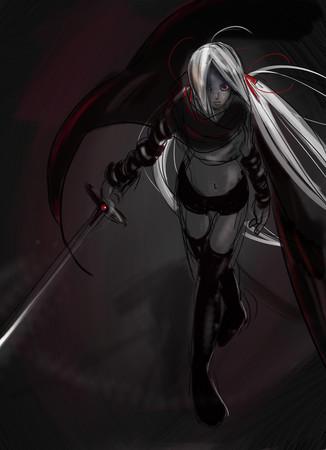 女剣士~painter練習