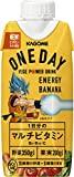 【キャンペーンシール付き】カゴメ ONEDAY ENERGY BANANA ×12本