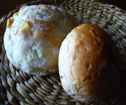 小麦と酵母 満