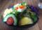 SHIZENのランチにつくサラダ