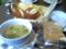 SAI MARKETのパンとスープのランチ