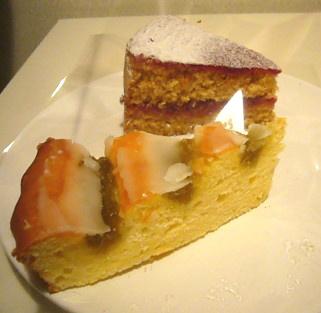 ひなぎくきつねのきんからべつベーカリーのケーキ