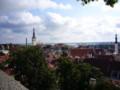 山の手(トームペア)からの景色(エストニア タリン)