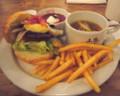 J.S. BURGERS CAFEのハンバーガーディナーセット