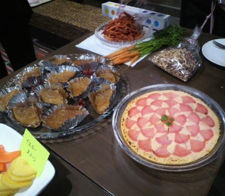 AVEDA野菜ワークショップ