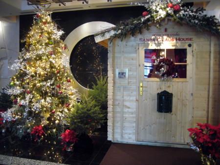ホテルニューオータニにて サンタクロースハウス
