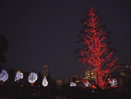 東京ミッドタウン 2010クリスマスイルミネーション
