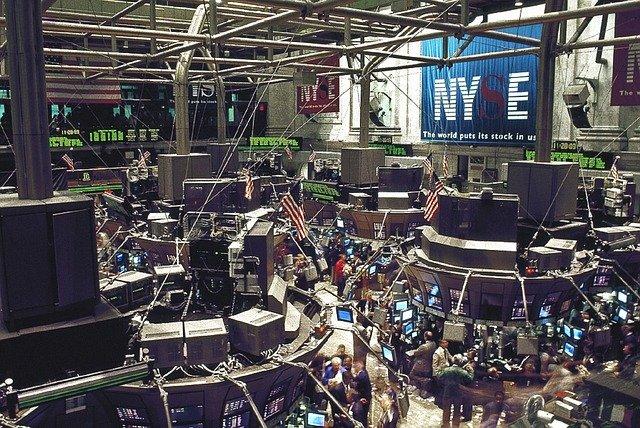 ニューヨーク証券取引所の画像