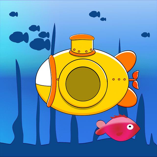 潜水艦の画像