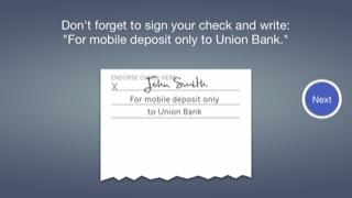 Check Depositの手順4