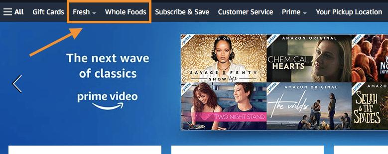 Amazon Freshの利用方法1