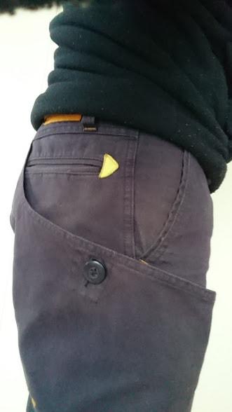グリップスワニーワークパンツサイドポケット