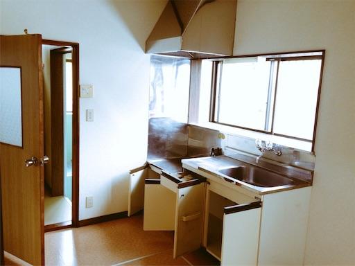 築30年の平屋キッチン