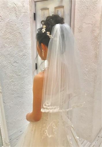 ウエディングドレス メイクリハーサル