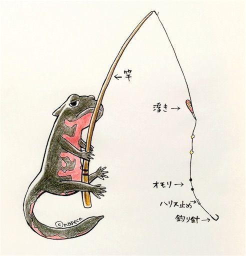 釣具の全体図
