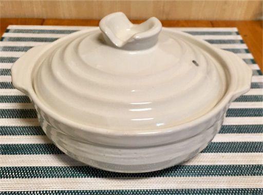 ニトリの土鍋