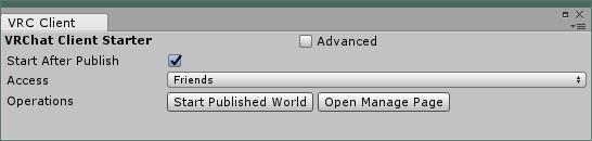 simple UI mode sample