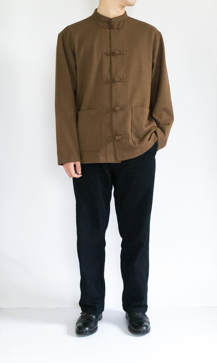 無印 良品 チャイナ シャツ
