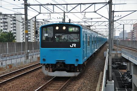 JR 東日本 201 系 K3 編成@新浦安駅