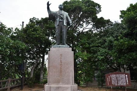 種子島時尭公銅像