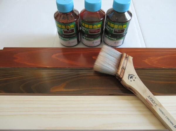 ワシン水性ポアーステインの塗り方と6つのコツ