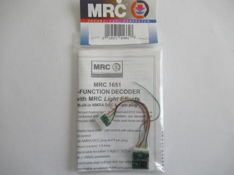 鉄道模型 DCC MRC-1651