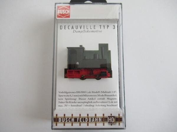 "BUSCH 12140 HOf (1/87,6.5mm) ドコービル ""Decauville"" Type 3 (ブラック)"