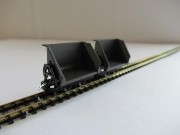 BUSCH 12200 HOf (1/87,6.5mm) チッパーワゴン 2輌セット