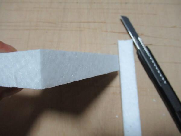 発泡スチロール(スタイロ)の切り方