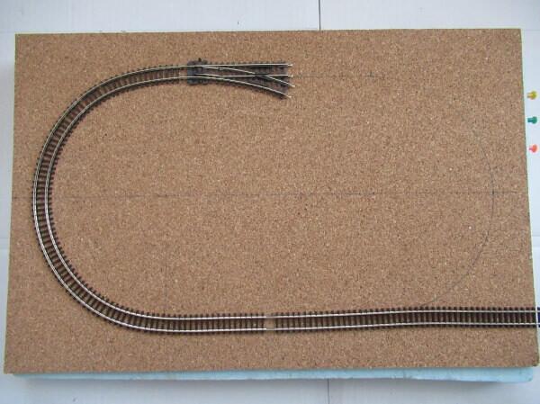 Bトレイン用レイアウトベースの作り方