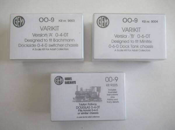 OO-9 ホワイトメタル ロコボディキット