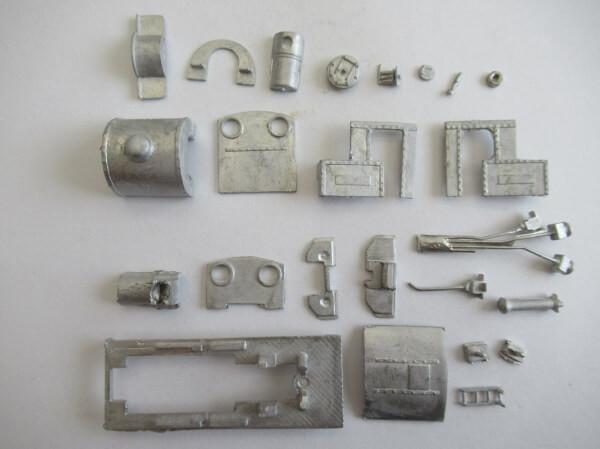 PECO GL-2 OO-9(9mm,1/76) James Loco Body Kit ホワイトメタル ロコボディキット
