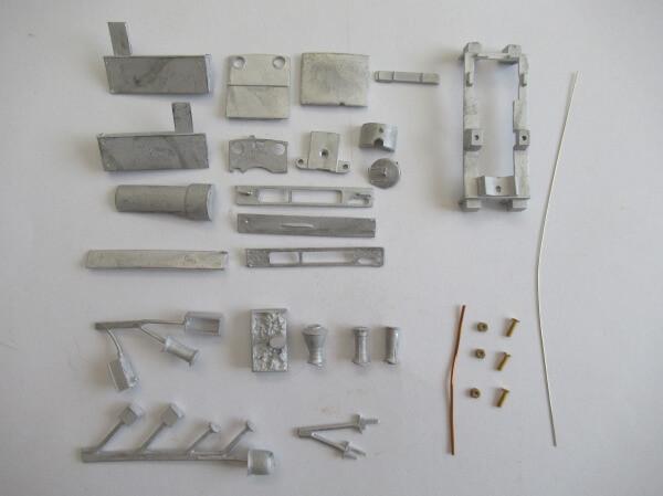 GEM 9004 OO-9 (1/76,9mm) バリキット (version B) 0-6-0T ロコボディキット