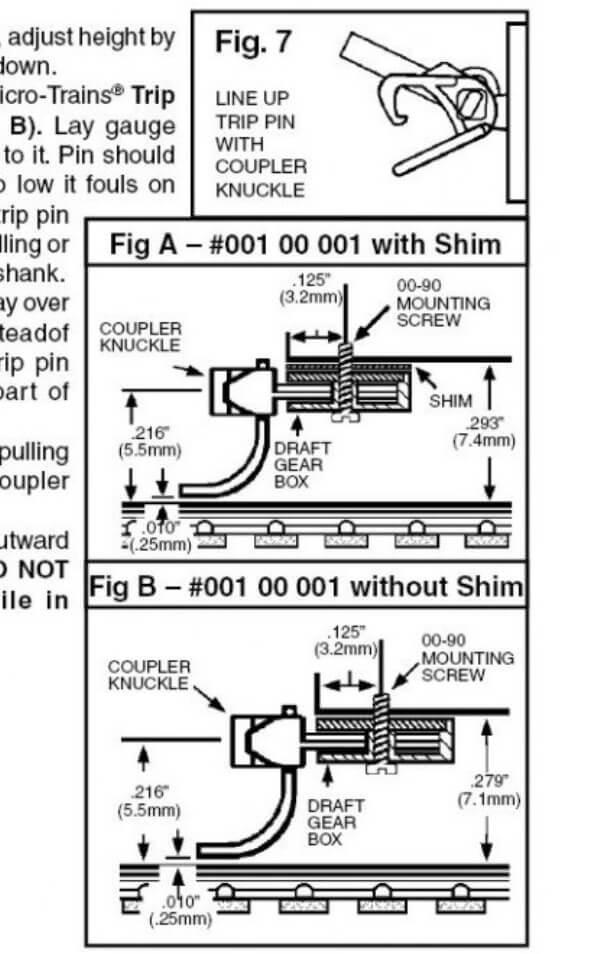 マイクロトレインズ 110002 #1015-10B N用 マグネマティックカプラー (ブラウン) (20個入/10輌分)