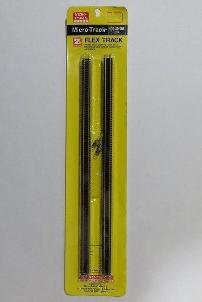 マイクロトレインズ99040901 Zゲージ (6.5mm,1/220) フレキシブルレール コード55 317.5mm (10本) 金属ジョイナー (24個入)