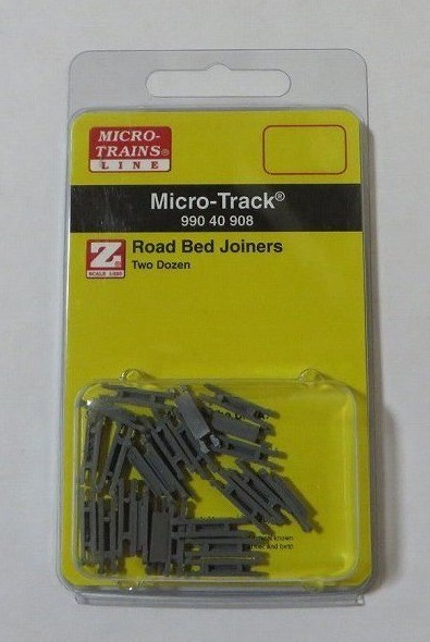 マイクロトレインズ99040908 Zゲージ (6.5mm,1/220) 路盤ジョイナー (コード55) (24個入)