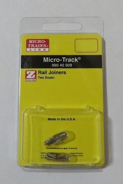 マイクロトレインズ99040909 Zゲージ (6.5mm,1/220) 金属ジョイナー (コード55) (24個入)