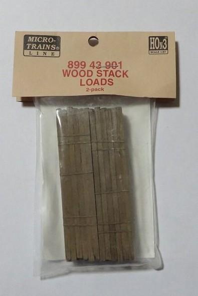 マイクロトレインズ89943901 HOn3用 積荷 角材 2個入
