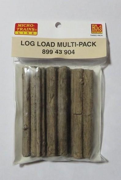 マイクロトレインズ89943902 HOn3用 積荷木材 3個入
