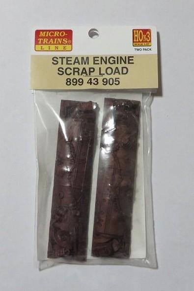 マイクロトレインズ89943902 HOn3用 積荷スクラップ蒸気機関 2個入