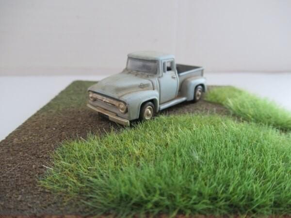 鉄道模型レイアウトの地面の作り方!