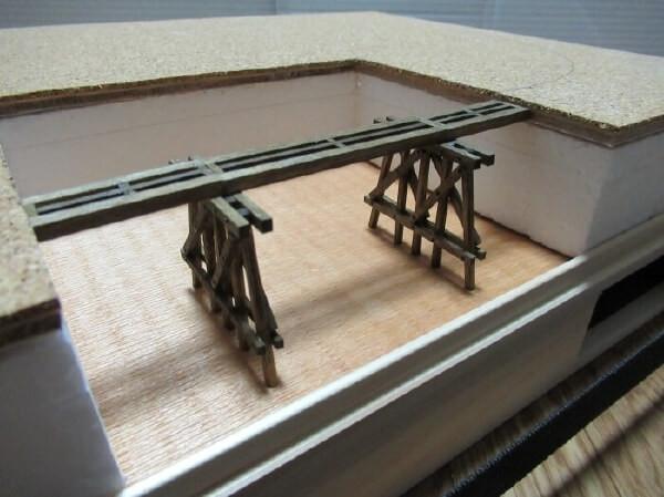 HOスケールでナローゲージのレイアウトベースを作る