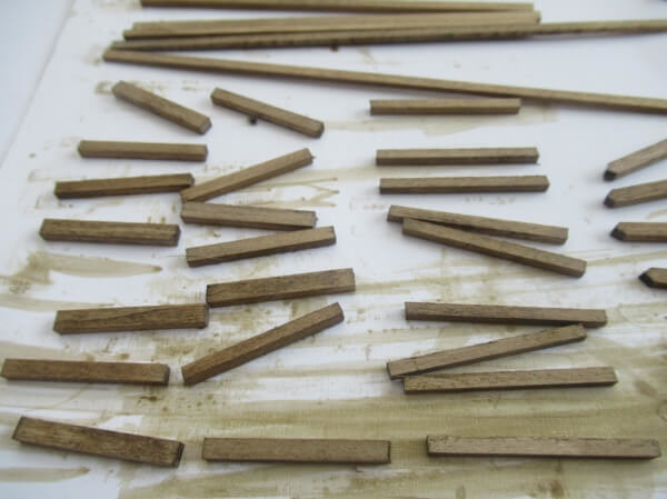 トラス橋のあるHOナローゲージのミニパイクを作る