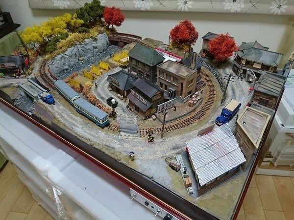 【軽便レイアウト】古き良き昭和の風景「磐北鉄道 吉祥線」~お客様の作品をご紹介~