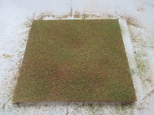 3つの素材でかんたん手軽にジオラマレイアウトの地面を作る