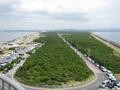 [風景]富津岬から房総半島を望む