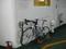 自転車を固定