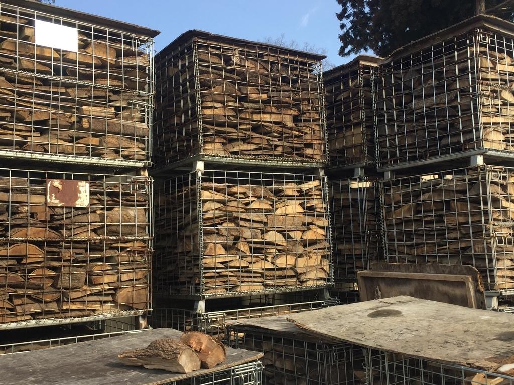 薪ストーブ燃料の薪