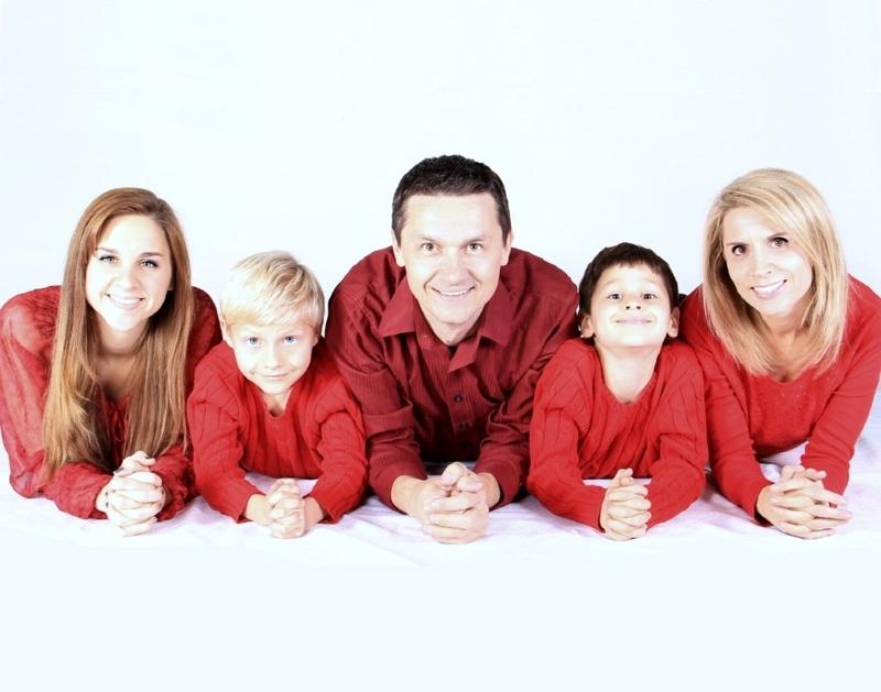 外人の家族