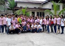 ボランティア青年団体の集合写真